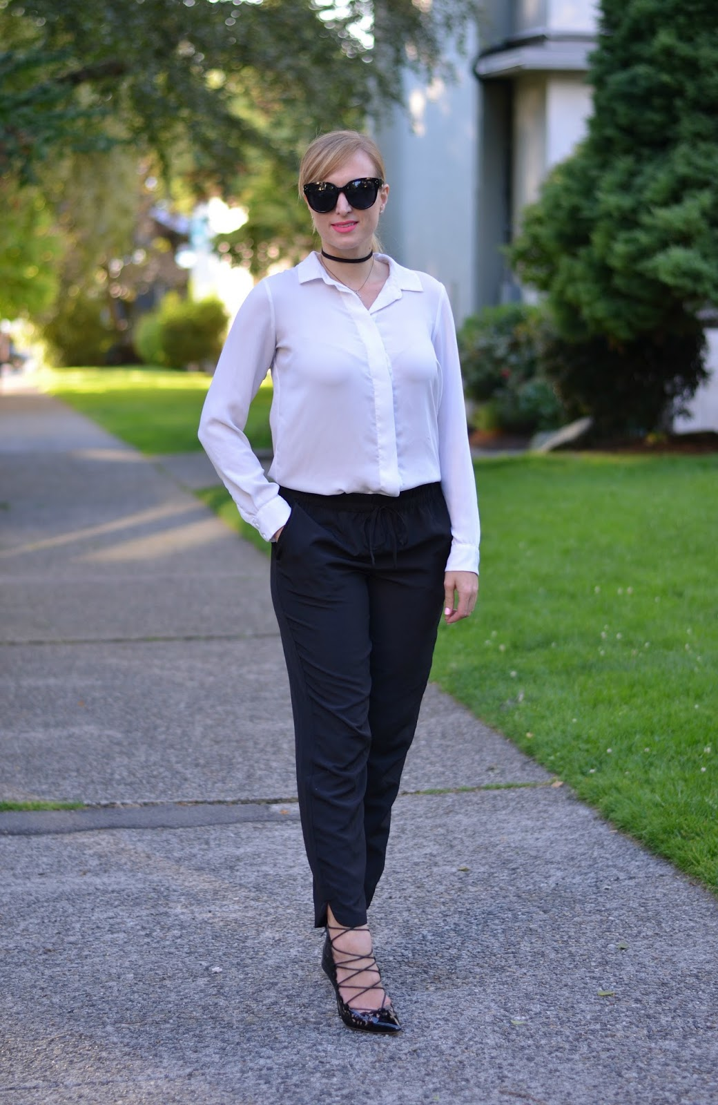 how to style the nineties trend for work
