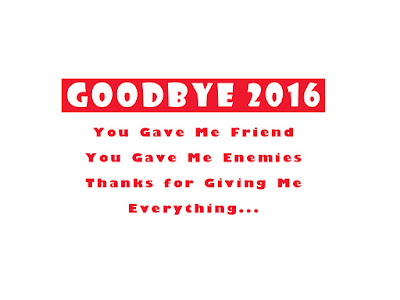 Bye Bye 2016 Photo with Quotes Download