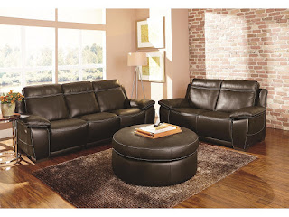 beutiful leather living room furniture