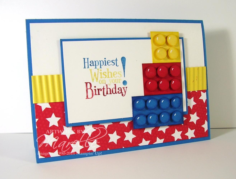 Lego Birthday Card Ideas