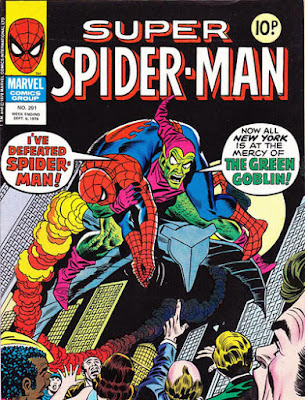 Super Spider-Man #291, the Green Goblin