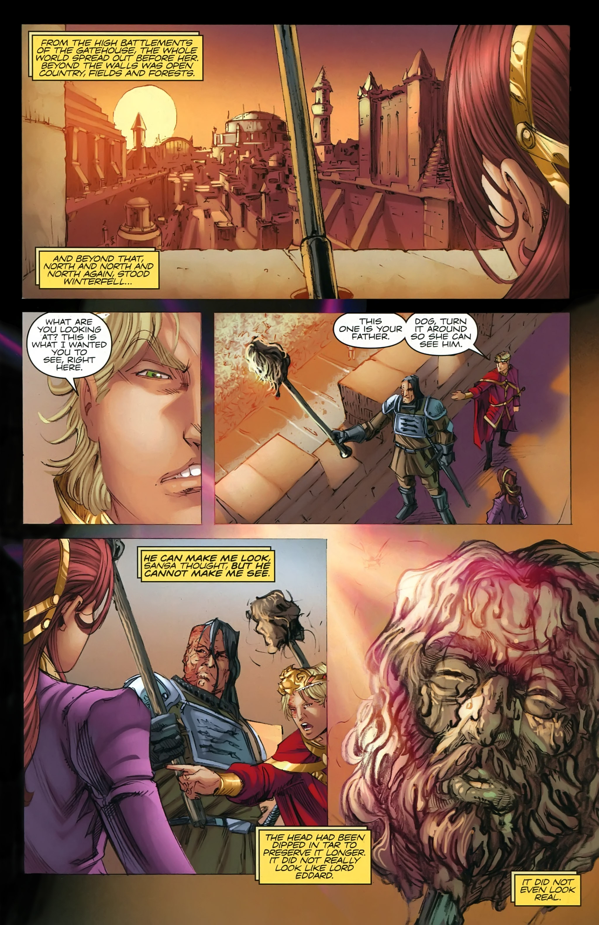 Read online A Game Of Thrones comic -  Issue #22 - 14