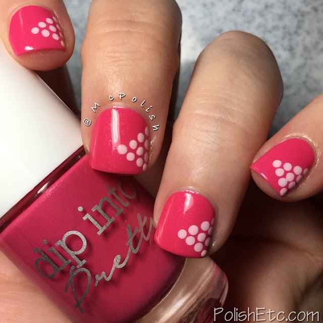 Polka Dot Nails for the #31DC2018Weekly - McPolish - Dip Into Pretty