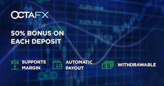 OCTAFX INDIA 50% bONUS