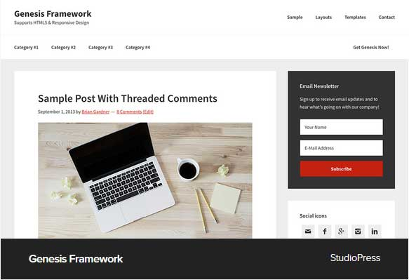 Award Winning Pro Themes for Wordpress Blog : Award Winning Blog