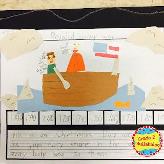 second grade timelines