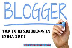 top 10 hindi blogs in india 2018