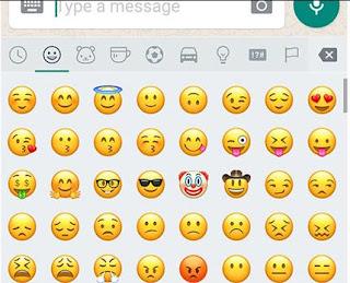 Emoticon WhatsApp Terbaru