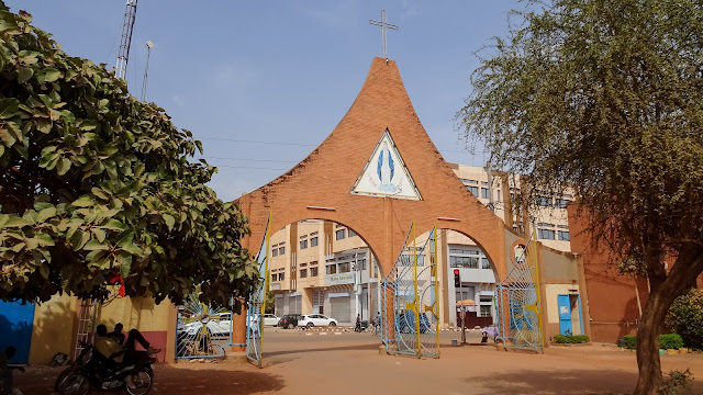 In the center of Ouagadougou