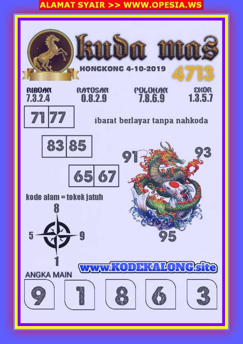 Kode syair Hongkong Jumat 4 Oktober 2019 104