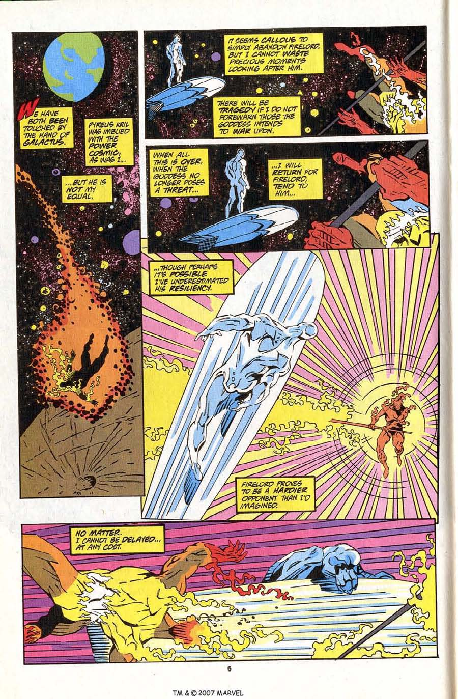 Read online Silver Surfer (1987) comic -  Issue #83 - 8