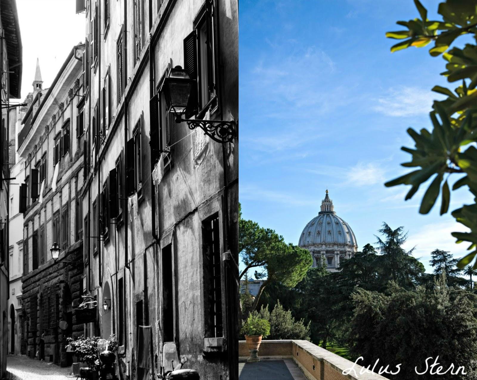 Häuser in Rom