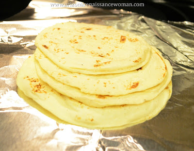 Flour Tortillas for Slow-Cooker Margarita Chicken Tacos