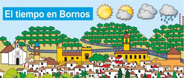 El tiempo en Bornos.