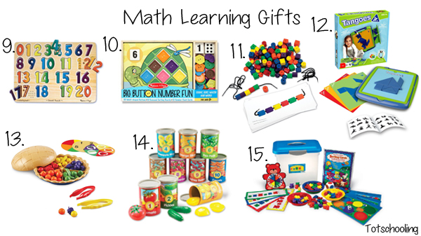 Math Learning Gift Guide