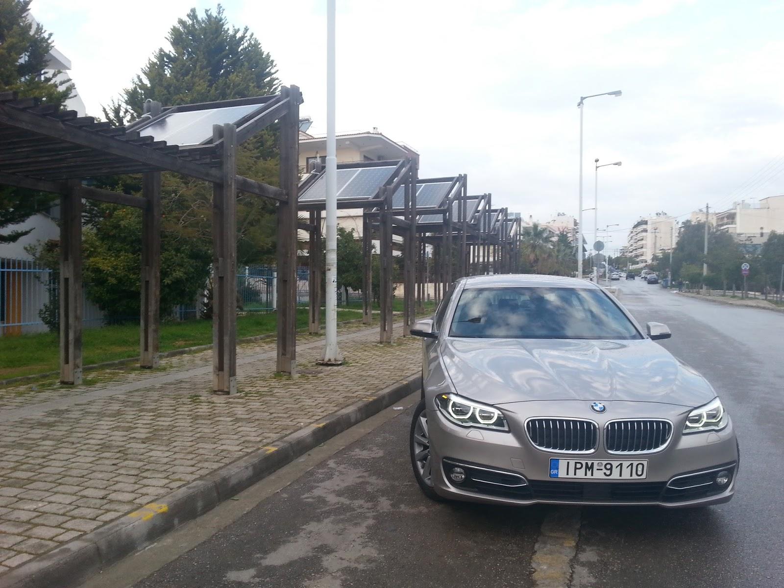 F4 Πόσο εύκολα παντιάζει η νέα BMW Σειρά 5;