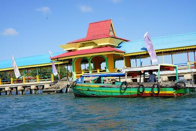 Dermaga tradisional Pulau Penyengat