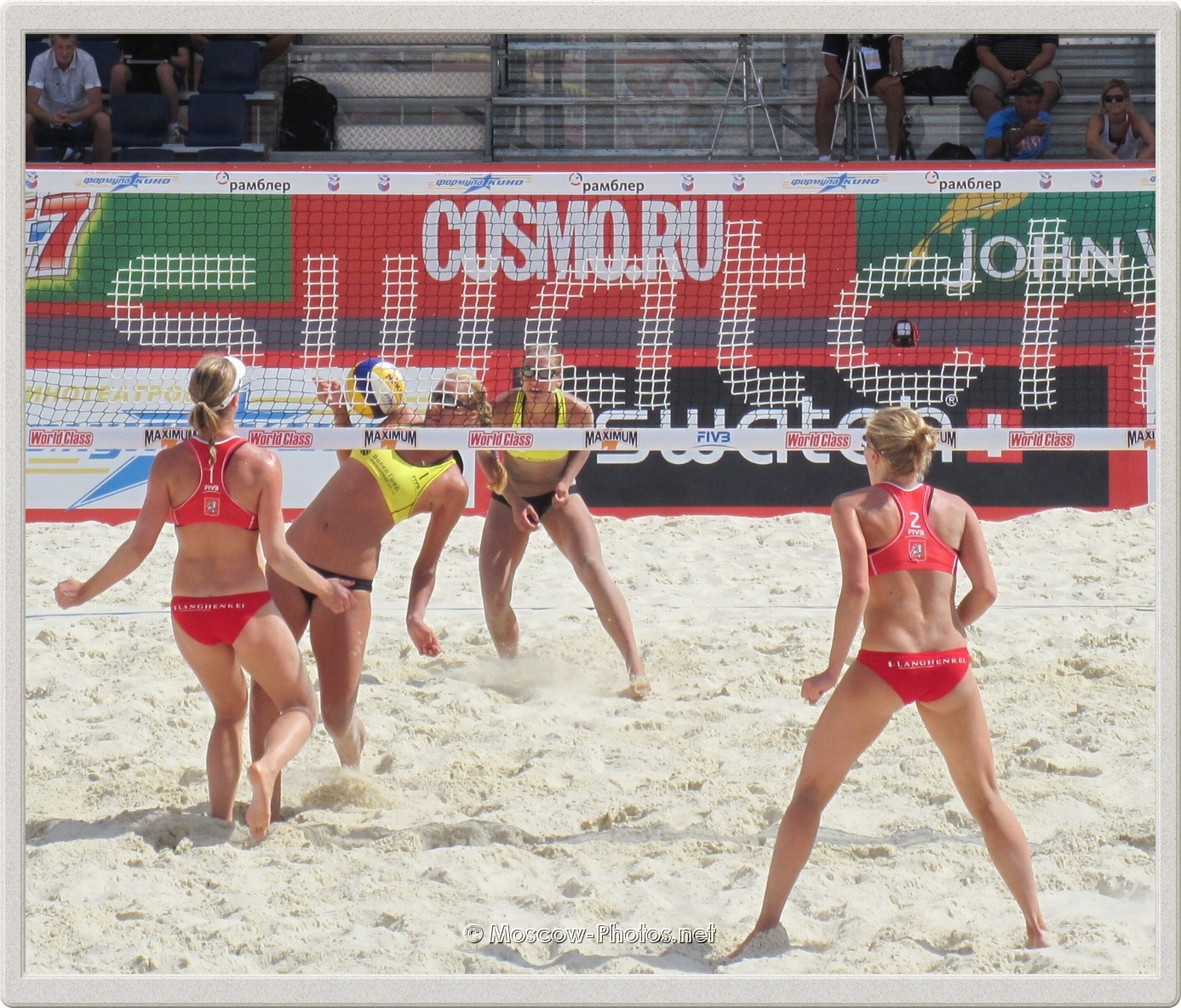FIVB Beach Volleyball Swatch World Tour. Grand Slam Moscow 2011