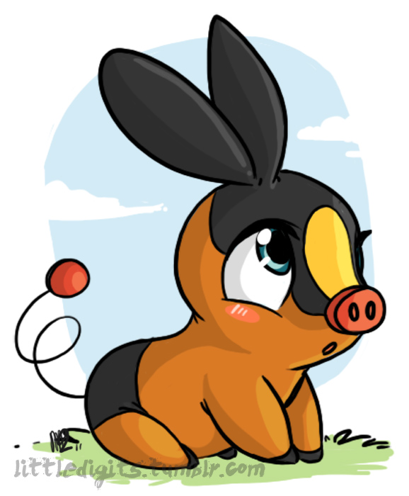Draw Project Desenhando Pokemon Tepig Tutorial