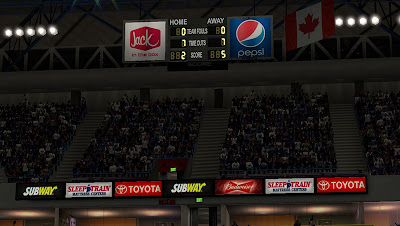 NBA 2K13 Mods Kings Court and Stadium Patch Update