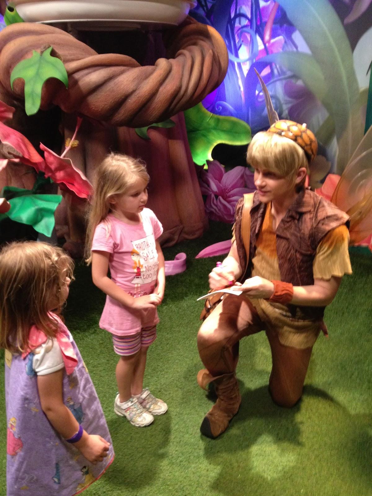 where to meet the fairies at disney world