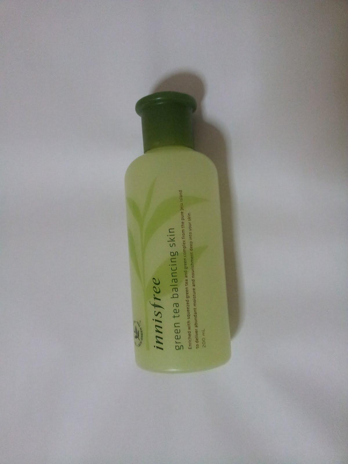 My Favourite Moisturising Skincare Innisfree Green Tea Amp Nature Republic Aloe Vera Korea