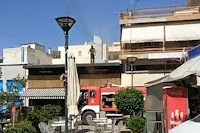 Πυρκαγιά σε ψητοπωλείο στο Άργος (βίντεο)