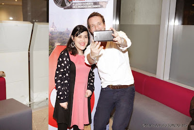 selfie avec Stéphane Rotenberg Pékin Express