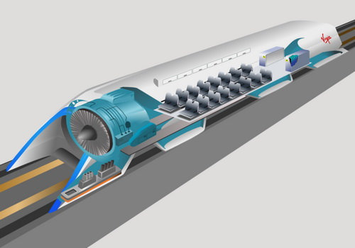 Tinuku Hyperloop One mentions nine routes across Europe