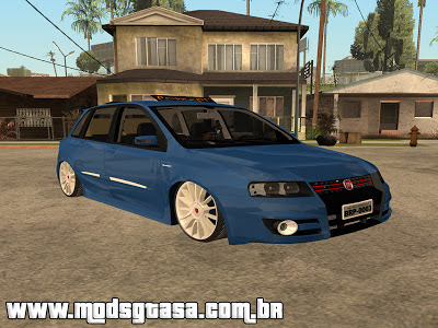 Fiat Stilo Sporting 2009 Edit para GTA San Andreas
