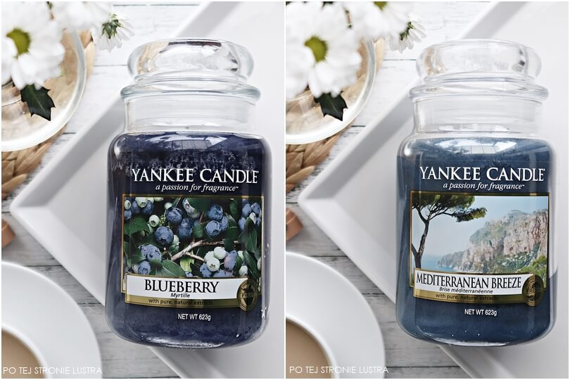 yankee candle blueberry i mediterranean breeze