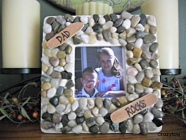 Dad Rocks Picture Frame