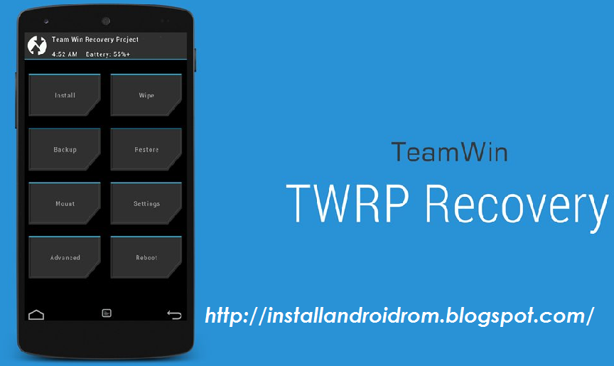 Install TWRP Recovery On Any Android Devices