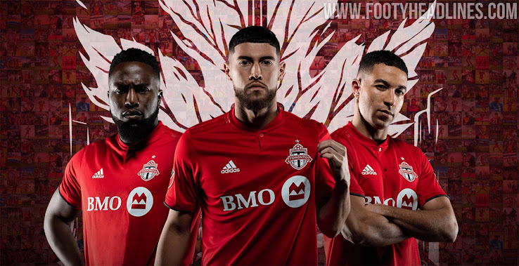new product 6bb4e a8322 Toronto FC 2019-2020 Home Kit Released - Footy Headlines