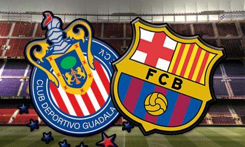 Barça Video Fc Barcelona 1 4 Chivas Guadalajara Video Highlights