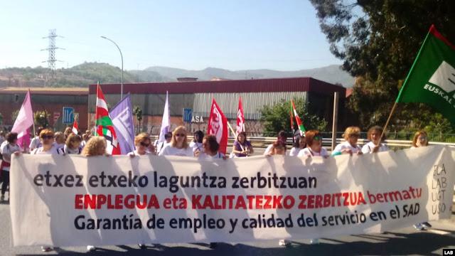 Marcha de las trabajadoras