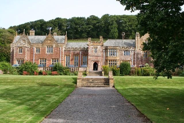 Large English manor home
