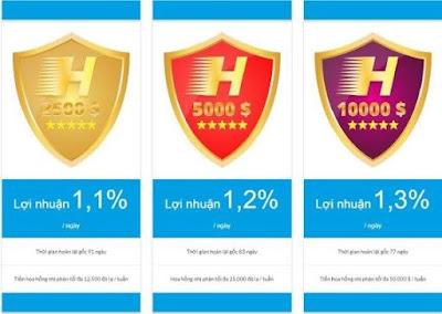 Dự án đầu tư HydroCoin HDC - Lãi lên đến 30-39%/ tháng