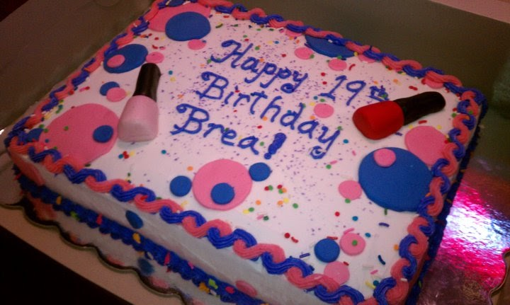 Introducing Birthday Cake For My Daugther Brea S