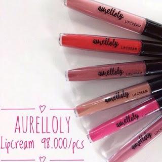 Harga Lipstik Aurel Hermansyah (Aurelloly Lip Cream) Terbaru 2017