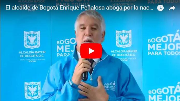 Alcalde de Bogotá propone nacionalizar a venezolanos refugiados