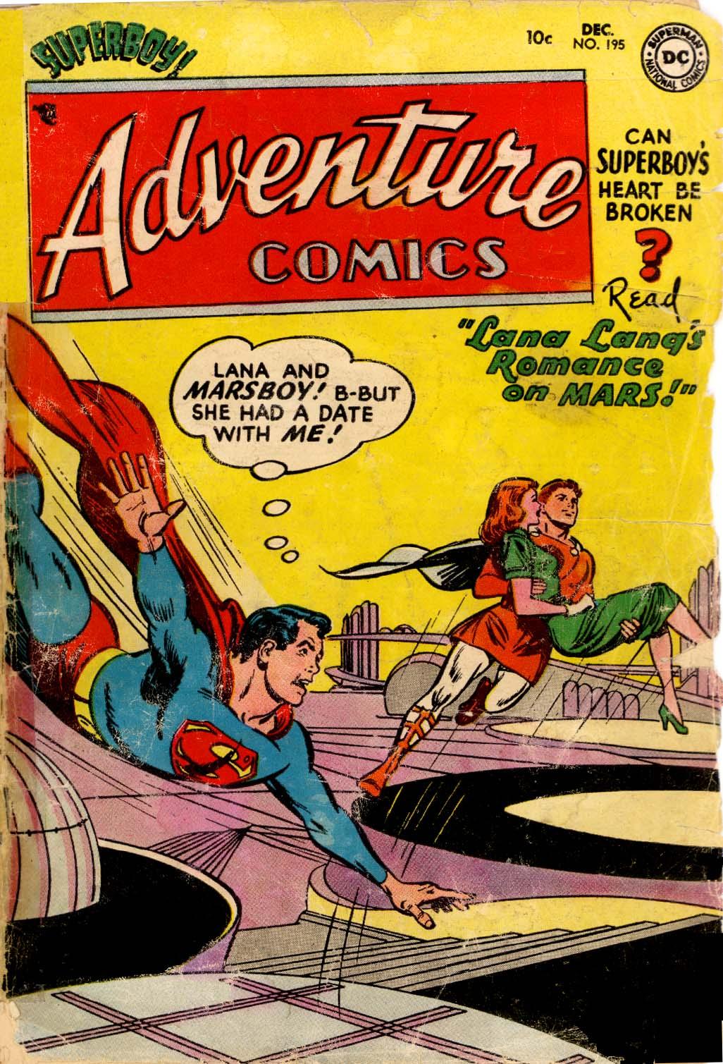 Read online Adventure Comics (1938) comic -  Issue #195 - 1