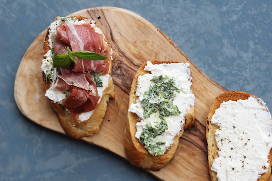 Parma ham ricotta basil recipes