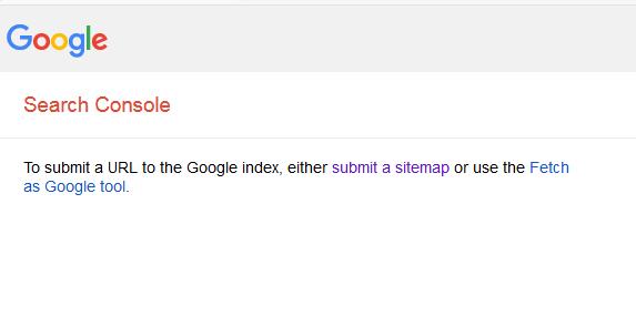 Tampilan Submit URL Postingan Lama