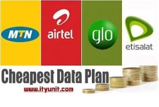 cheapest-data-plan-mtn-glo-etisalat-2016