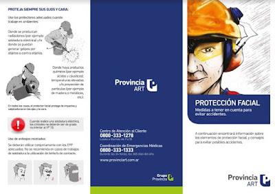 triptico elementos de proteccion personal
