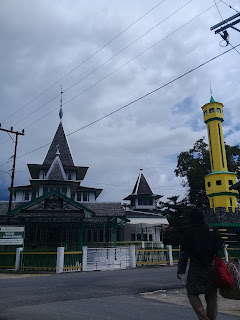 survey dan kunjungan ke masjid keramat al mukarammah kota rantau kalimantan selatan