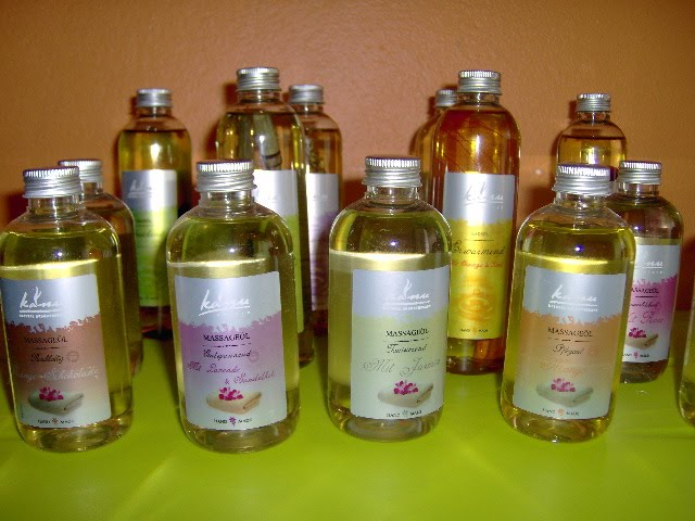 5 tipos de oleos que são usados na Massagem
