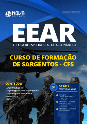 Apostila Concurso FAB 2020 Curso de Formação de Sargentos Grátis Cursos Online