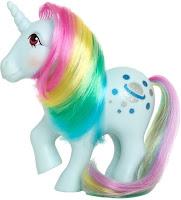 My Little Pony 35th Anniversary Retro G1 Moonstone